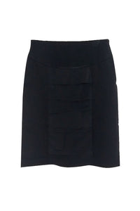 Maternity Skirt with Chiffon Panel Detail - Studio Europe