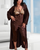 Kinga Satin Long Robe by Obsession Loungewear- Studio Europe