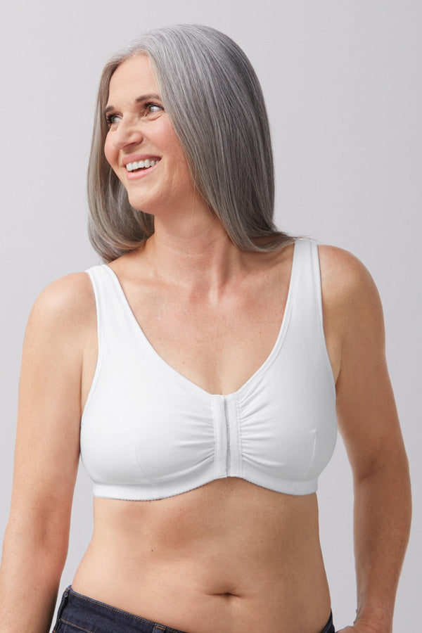 Fleur Wireless Front Opening Bra - Studio Europe