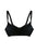 Black Frilled Maternity T shirt Bra by Pretty Baby- Studio Europe