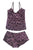 Damson Silk Print Maternity PJ Set by Blossom- Studio Europe