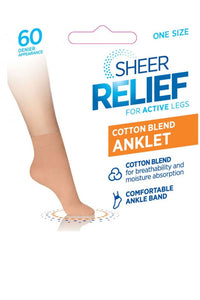 Cotton Blend Anklet 5 Pk - Studio Europe