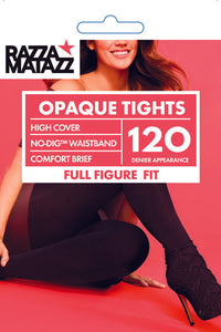 3pk Curvaceous Opaque Tights - Studio Europe