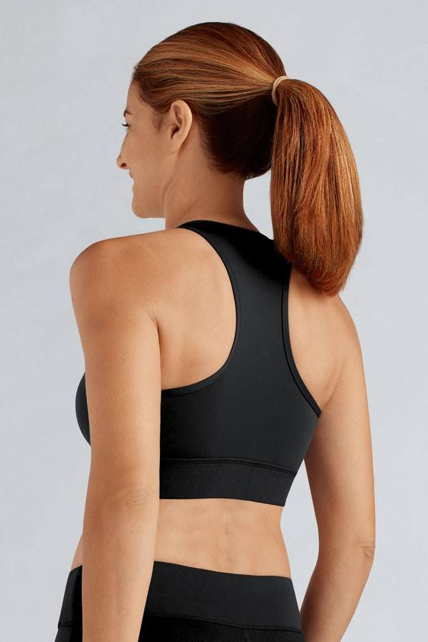 Zipper Sports Bra - Studio Europe