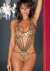 Roma Thong Bodysuit by Cristina Iaia Lingerie- Studio Europe