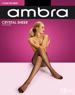 Classics Crystal Sheer Pantyhose - Studio Europe