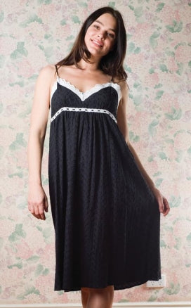 Queen's Castle Strappy Nightie - Studio Europe
