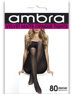 3 Pk Velvet Matte Opaque Tights - Studio Europe