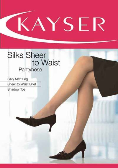 Silks Sheer To Waist Pantyhose - Studio Europe