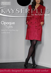 Plus Opaque Tight by Kayser Hosiery- Studio Europe