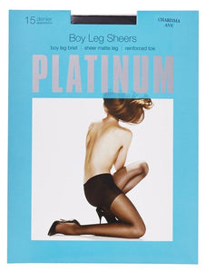 Boyleg Sheers by Platinum Hosiery- Studio Europe