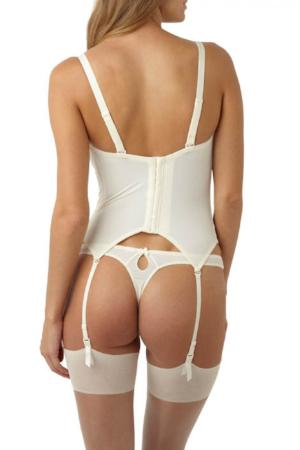 Evie Bridal Thong Ivory - Studio Europe