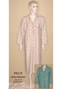 Rose Trellis Niteshirt by Vikki James Nightwear- Studio Europe