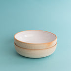 Pasta Bowl - White Gloss Sand