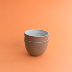 Set of Breakfast Bowls - Terracotta