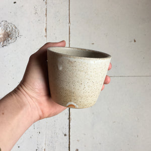 Flat White Cup - Sand Stone