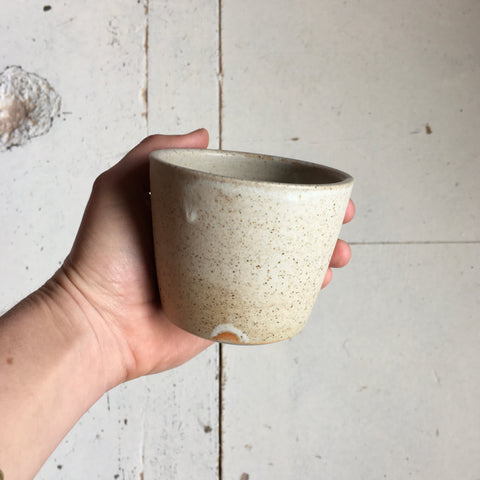 Sand Stone Flat White Cup