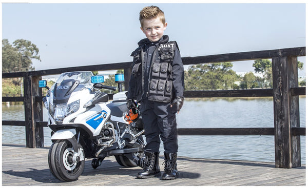 Bebouze Kids BMW Licensed R1200 RT Police Motorcycle Rechargeable