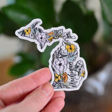 Load image into Gallery viewer, Vinyl Sticker // MI Floral