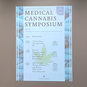 Medical Cannabis Symposium on September 21st 2019 in University of Limerick
