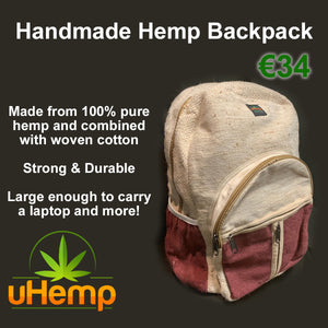 Hemp Backpack Review Video