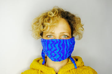 Desert blue Co-mask