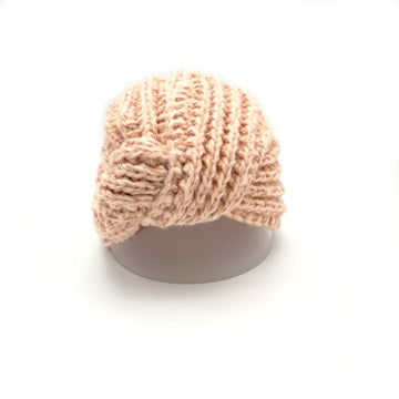 Peach-blow turban