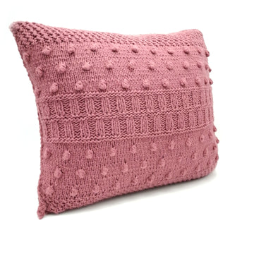 Coral color Pillow