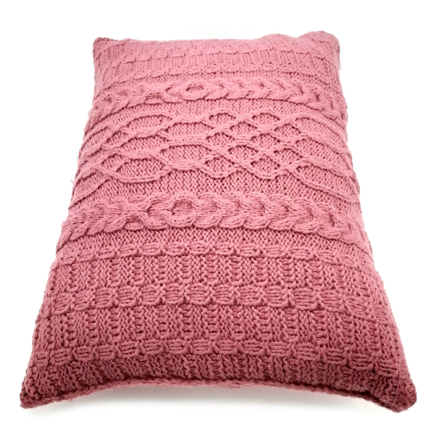 Coral color Long Pillow