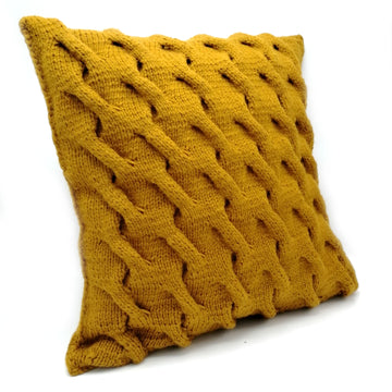 Mustard Yellow Pillow