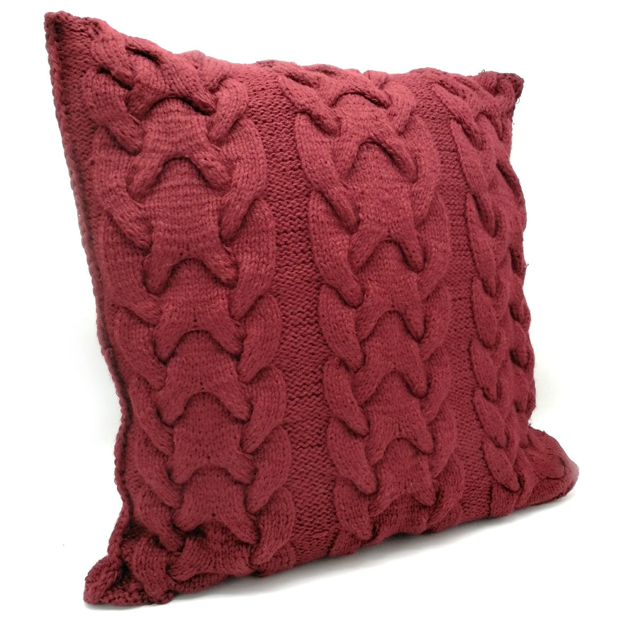 Maroon Pillow