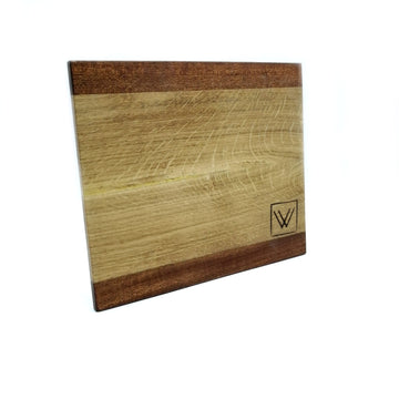 Mahogany-Acacia wood cutting board