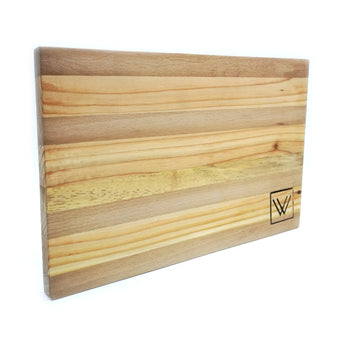 Pine-Beech-Oak wood cutting board