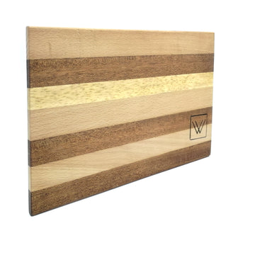 Mahogany-Beech-Oak wood cutting board