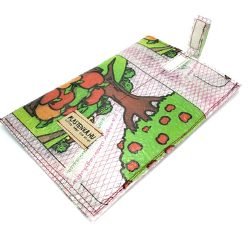 TABLET SLEEVE FROM HOT PRESSED TRANSPARENT VINTAGE PACKAGING