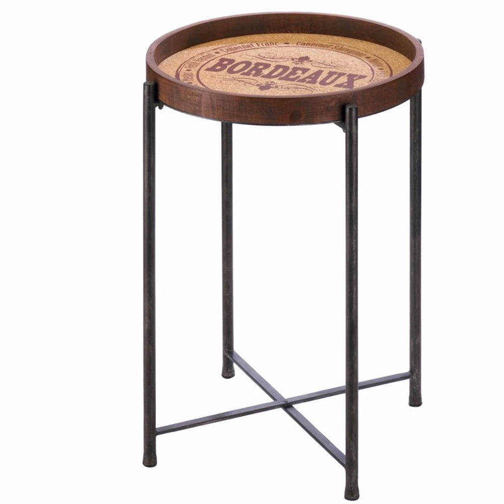 Wine Inspired Accent Table