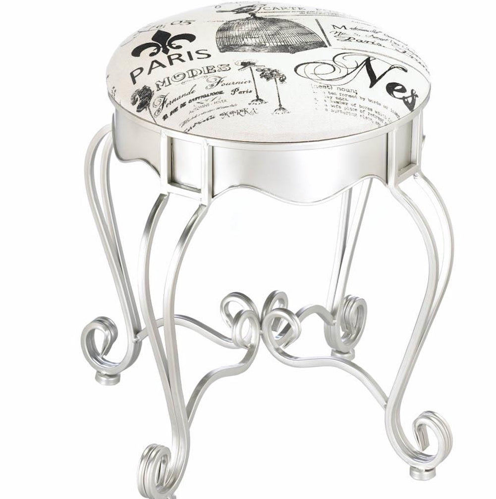 Paris Metallic Stool
