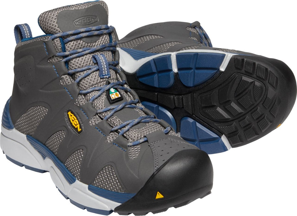 "Aluminum-Toe Safety Boots From Keen San Antonio 6"" Mid Boot"