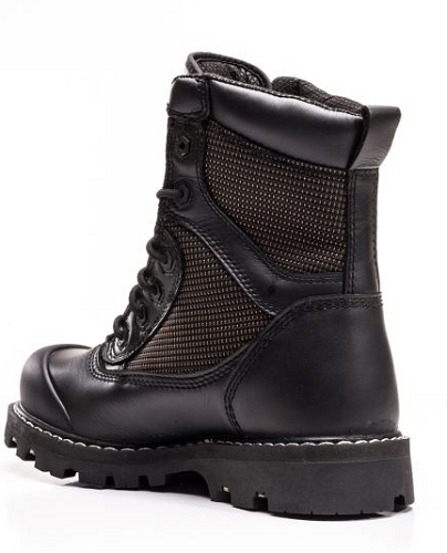 "ROYER 8"" Composite Toe Black Leather Work Boot"