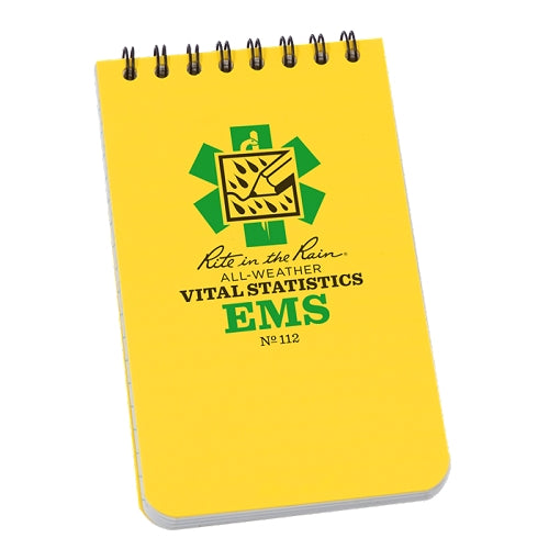 RITE IN THE RAIN EMS Vital Statistics Book