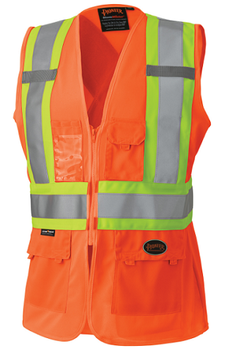 PIONEER HI-VIZ Woman's Safety Vest (Orange)
