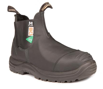 BLUNDSTONE 165 - Greenpatch CSA Met Guard Black