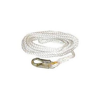 "MCM  Lifeline 5/8"" w/ Snap Hook-100FT"