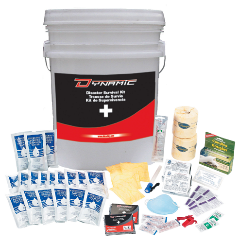 DYNAMIC SAFETY Disaster Survival Kit (2 Person/3 Day)