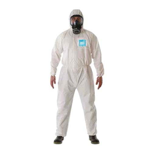ANSELL Microgard Disposable Coverall with Hood (SM-2XL)