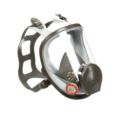 3M 6000 Series Latex Full Mask Respirator Assembly