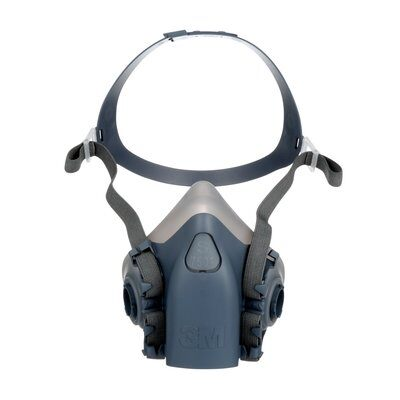 3M 7500 Series Silicone Half Mask Respirator Assembly