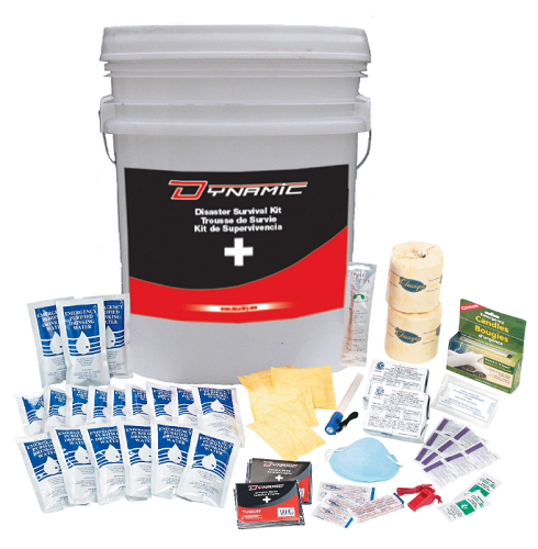 DYNAMIC SAFETY Disaster Survival Kit (4 Person/3 Day)