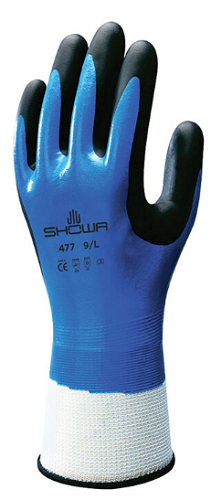 SHOWA Nitrile Fully Dipped Insulated Work Glove