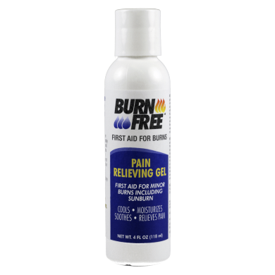 BURN FREE Pain Relieving Gel (4oz)